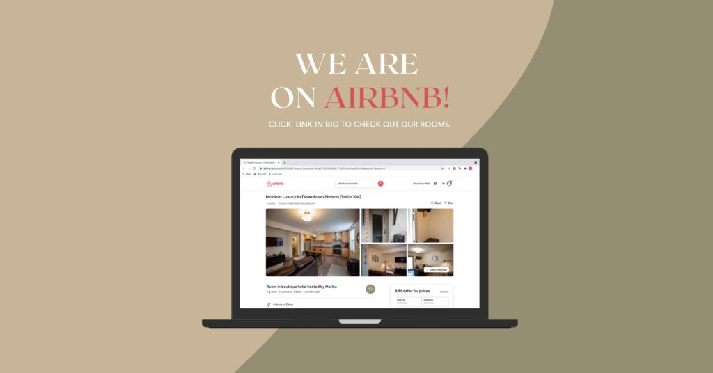 Stirling Suites is on AirBnb